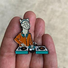 Load image into Gallery viewer, DJ LlamaRama Lapel Pin
