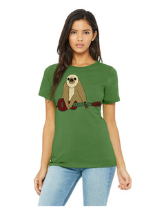 Zososlow Sloth T-Shirt - Women's Leaf