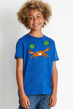 Load image into Gallery viewer, Crabarita T-Shirt - Youth Royal
