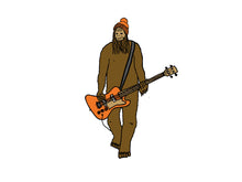 Load image into Gallery viewer, Mr Big On Bass Iron-On-Patch