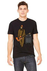 Mr Big on Bass T-Shirt - Unisex Black