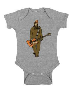 Mr Big on Bass One Piece - Infant Heather