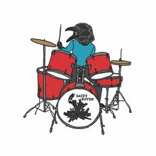 Load image into Gallery viewer, Salty Raven Drums Iron-On-Patch