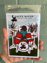 Load image into Gallery viewer, Salty Raven Drums Sticker
