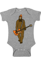 Load image into Gallery viewer, Mr Big on Bass One Piece - Infant Heather