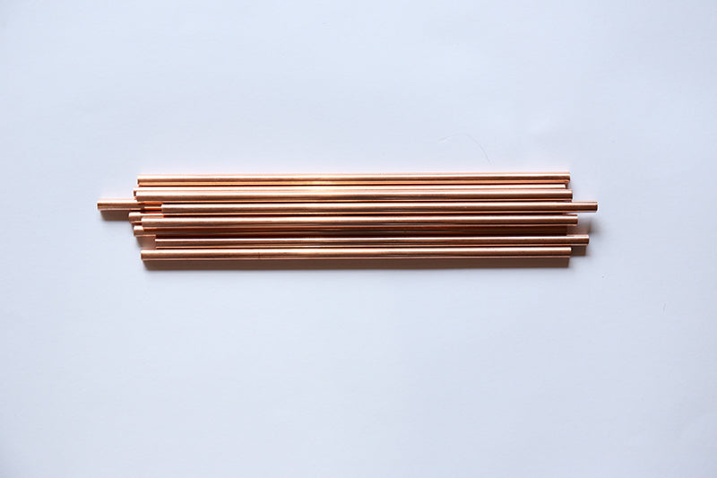 REUSABLE Copper straws - Mudra.mx