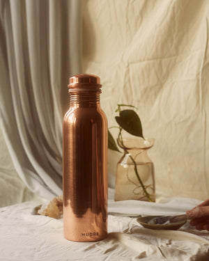 COPPER WATER BOTTLE - Mudra.mx