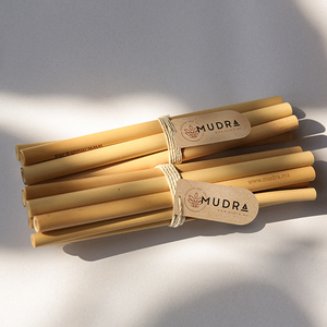 NATURAL BAMBOO STRAW - Mudra.mx