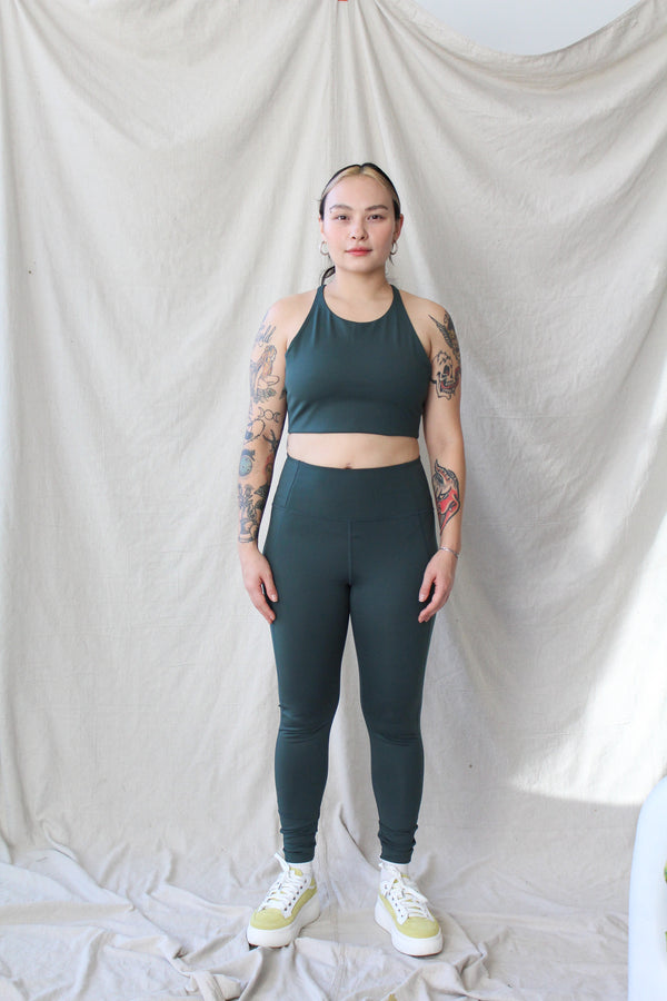 Compression Legging (Moss)