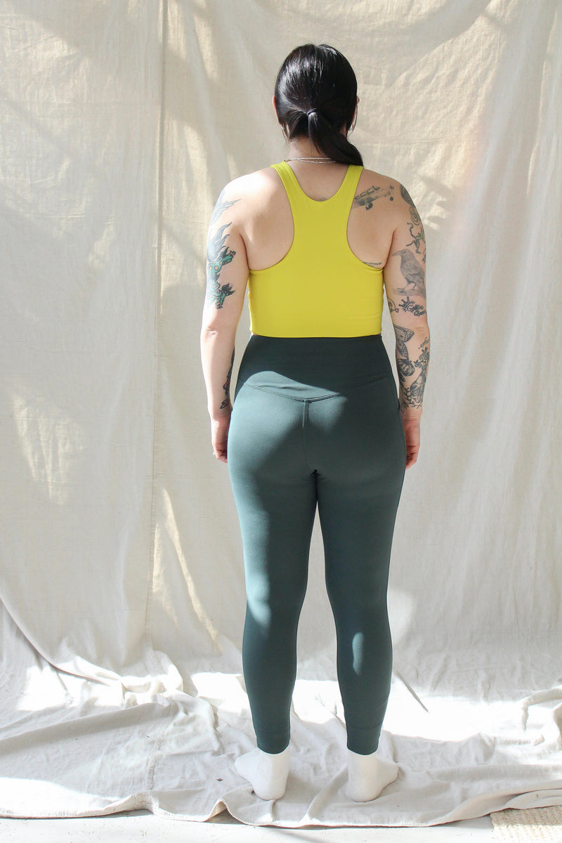 Pocket Legging (Moss)