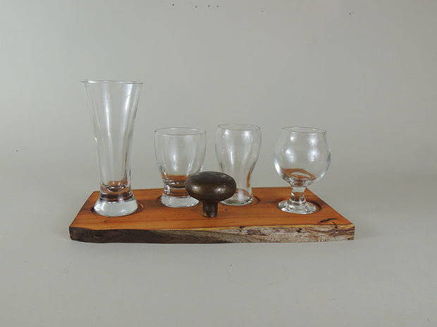 Pacific Yew Beer Flight Set - #033