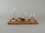 Pacific Yew Beer Flight Set - #035