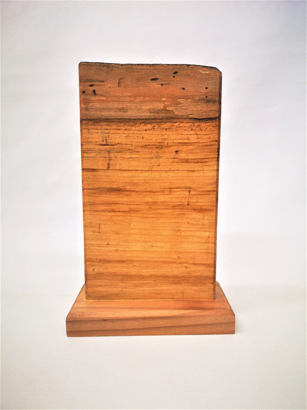 "11"" x 7"" Maple Countertop Knife Block - #001"