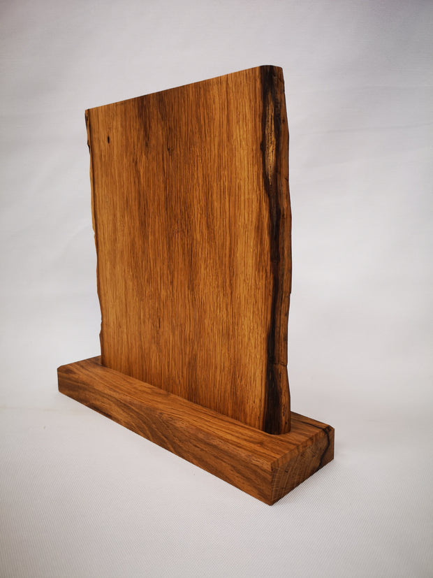 "12"" x 12"" Garry Oak Countertop Knife Block - #013"