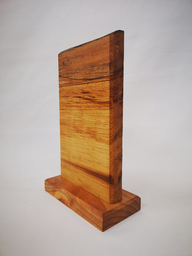 "11"" x 7"" Maple Countertop Knife Block - #002"