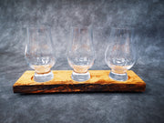 Garry Oak and Glencairn Whiskey Tasting Set