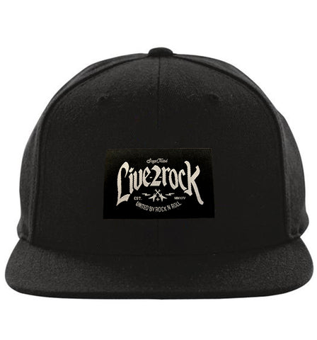 ZZ-Sticker Guitar Crest (Black)