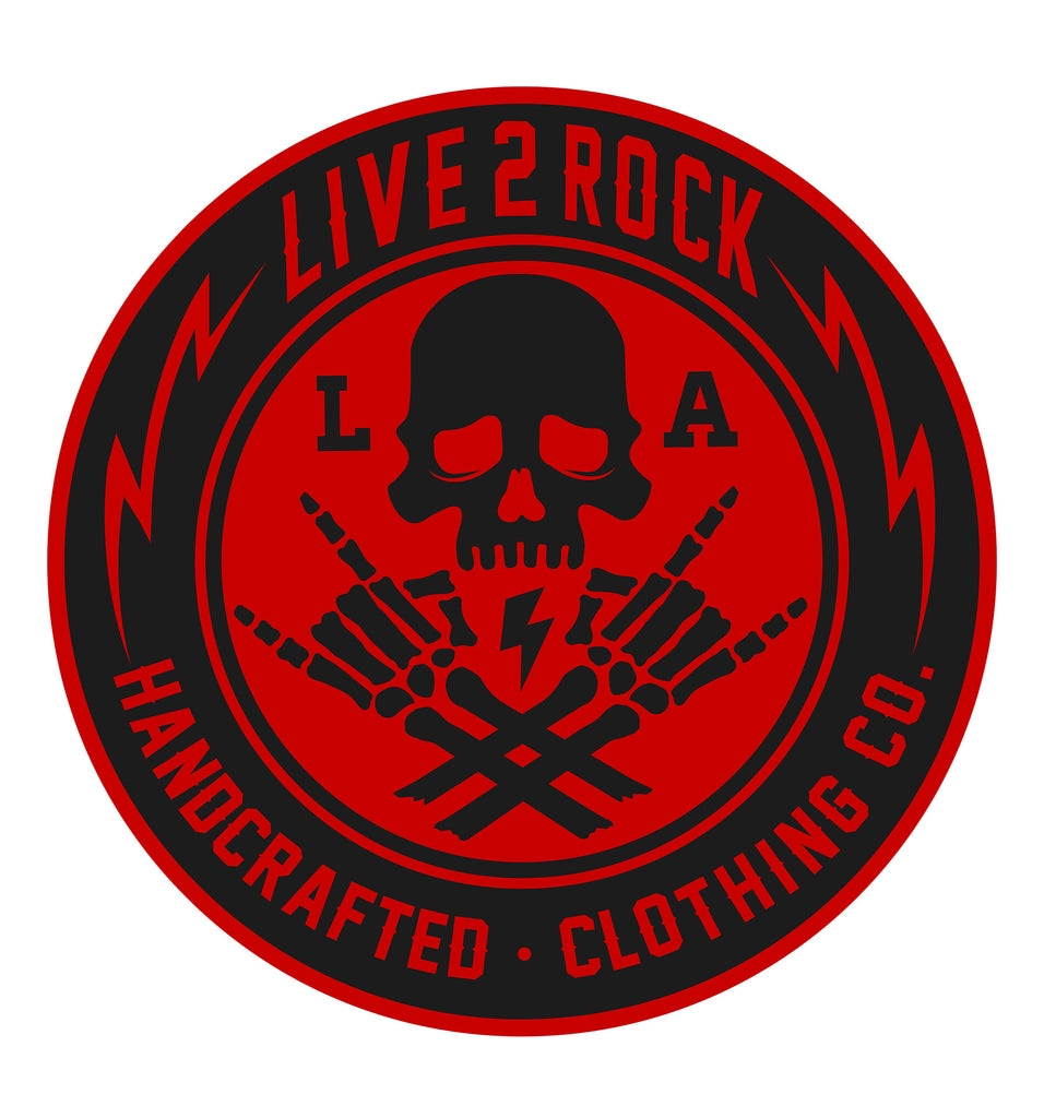 ZZ- Skull & Bones Sticker (Red)