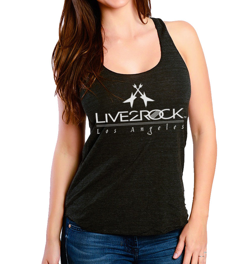 Live 2 Rock Racerback (Black)