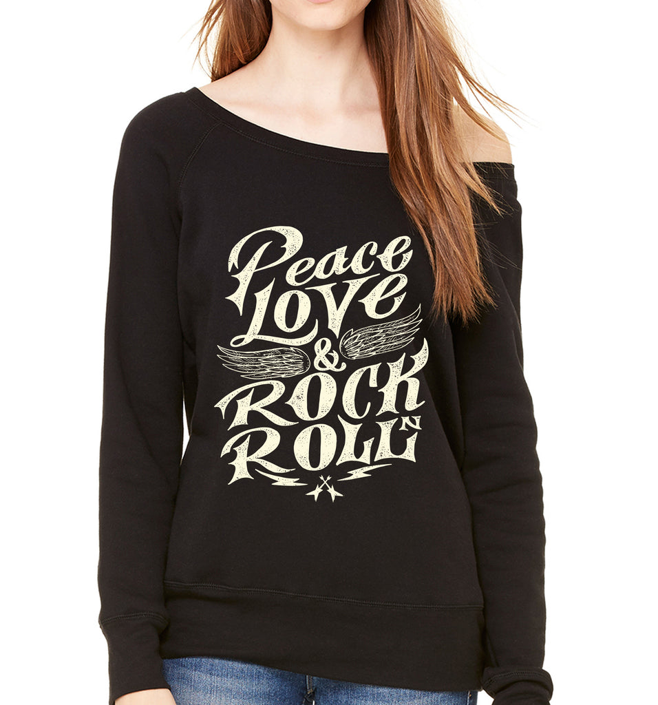 Peace Love RocknRoll Sweatshirt