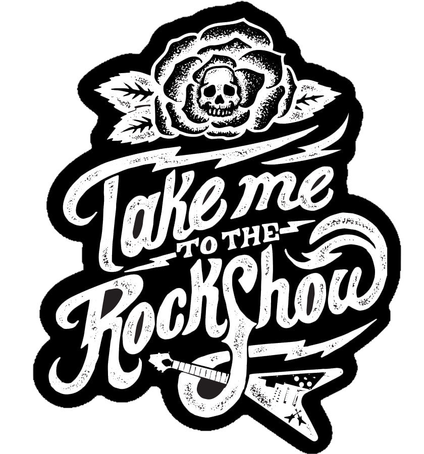 ZZ- Rock Show Sticker