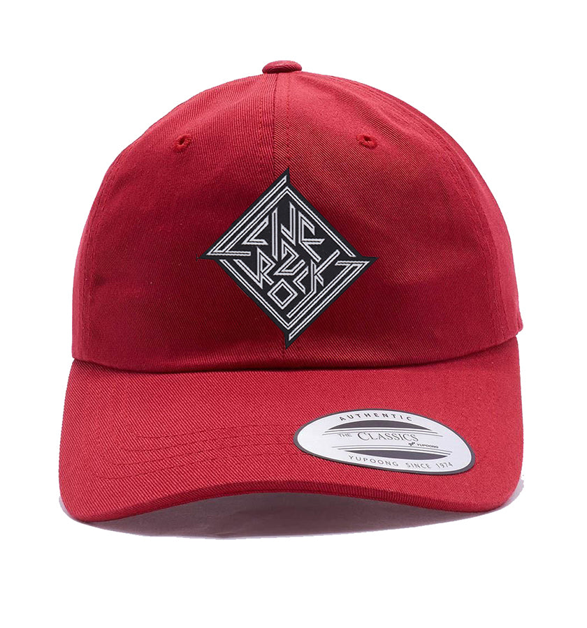 Def Diamond Dad Hat (Cardinal)
