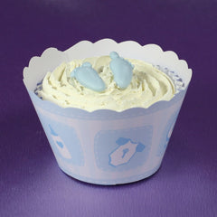 BABY BLUE CUPCAKE WRAPPER - Cake Decorating Supplies | Cake Supplies at Devine Deals