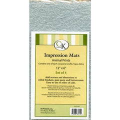 ANIMAL PRINTS IMPRESSION MATS - Cake Decorating Supplies | Cake Supplies at Devine Deals