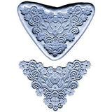 FLOWER LACE BOARDER SILICONE MOULD - Cake Decorating Supplies | Cake Supplies at Devine Deals