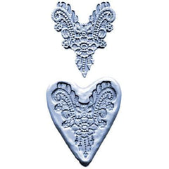 LACE WITH DANGLES SILICONE MOULD - Cake Decorating Supplies | Cake Supplies at Devine Deals