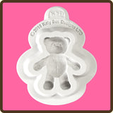 KATY SUE BABY TEDDY BEAR SILICONE MOULD - Cake Decorating Supplies | Cake Supplies at Devine Deals