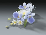 ORCHID GUMPASTE FLOWER SPRAY - Cake Decorating Supplies | Cake Supplies at Devine Deals