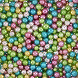 4.5MM METALLIC ASSORTED COLOURS DRAGEES
