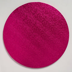 "ROUND CERISE CAKE DRUM 14"" - Cake Decorating Supplies 