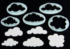 FLUFFY CLOUDS CUTTER SET - Cake Decorating Supplies | Cake Supplies at Devine Deals