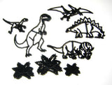 DINOSAUR CUTTER SET BY PATCHWORK CUTTERS - Cake Decorating Supplies | Cake Supplies at Devine Deals