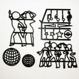 DISCO DANCERS SET BY PATCHWORK CUTTERS - Cake Decorating Supplies | Cake Supplies at Devine Deals
