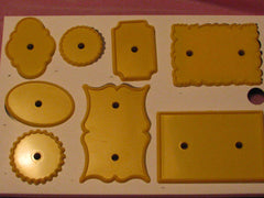 JEM CARD AND PLAQUE CUTTERS - Cake Decorating Supplies | Cake Supplies at Devine Deals
