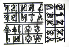 LARGE ALPHABET & KEY CUTTER SET  BY PATCHWORK CUTTERS - Cake Decorating Supplies | Cake Supplies at Devine Deals