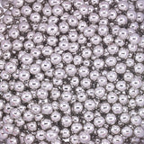 4MM METALLIC SILVER DRAGEES