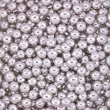 5MM METALLIC SILVER DRAGEES