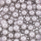 8MM METALLIC SILVER DRAGEES