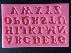 UPPER CASE ALPHABET SILICONE MOULD - Cake Decorating Supplies | Cake Supplies at Devine Deals
