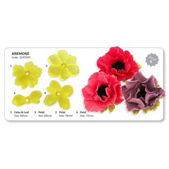 ANEMONE SET OF 4 CUTTERS BY JEM - Cake Decorating Supplies | Cake Supplies at Devine Deals