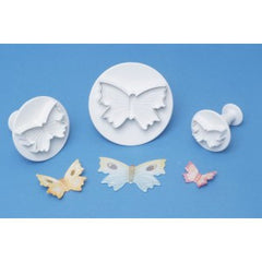 BUTTERFLY PLUNGER CUTTER SET BY PME - Cake Decorating Supplies | Cake Supplies at Devine Deals