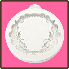 KATY SUE FLORAL CIRCLE SILICONE MOULD - Cake Decorating Supplies | Cake Supplies at Devine Deals