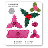 CUPID ROSE, HOLLY AND BERRIES BY JEM - Cake Decorating Supplies | Cake Supplies at Devine Deals