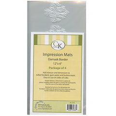 DAMASK BORDER IMPRESSION MAT - Cake Decorating Supplies | Cake Supplies at Devine Deals