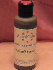 AMERIMIST, ELECTRIC PURPLE AIRBRUSH COLOUR 4.5 OZ for Cake Decorating Colour - Cake Decorating Supplies | Cake Supplies at Devine Deals