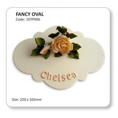 FANCY OVAL - Cake Decorating Supplies | Cake Supplies at Devine Deals